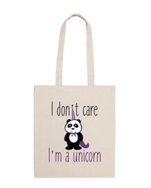 non mi interessa io sono un unicorno