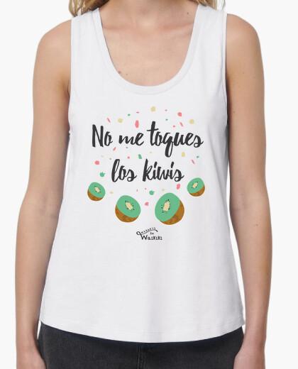 T-shirt non mi toccare i kiwi