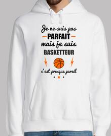non perfetto basket giocatore di basket