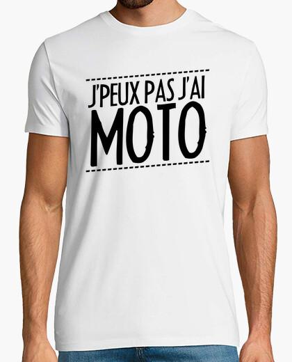 T-shirt Non posso andare in moto !