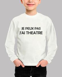 Non posso avere un teatro