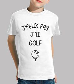 Non posso giocare a golf
