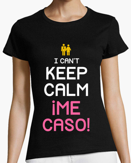 T-shirt non posso keep la calma, ascolto me! (girlfriend)