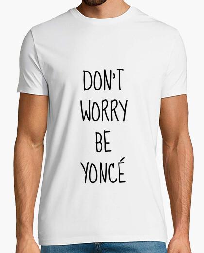 T-shirt non preoccupatevi essere Yonce / quote