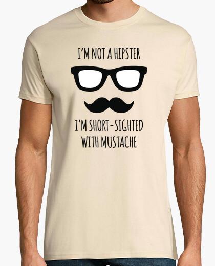 T-shirt Non sono hipster