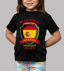 non sono perfetta, sono spagnola ragazze