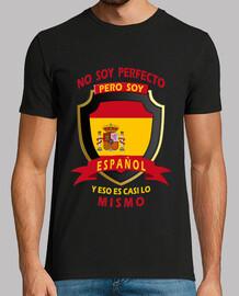 non sono perfetta, sono spagnolo uomo