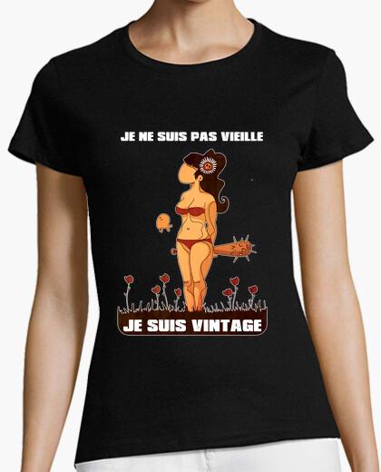 T-shirt Non sono vecchio sono vintage
