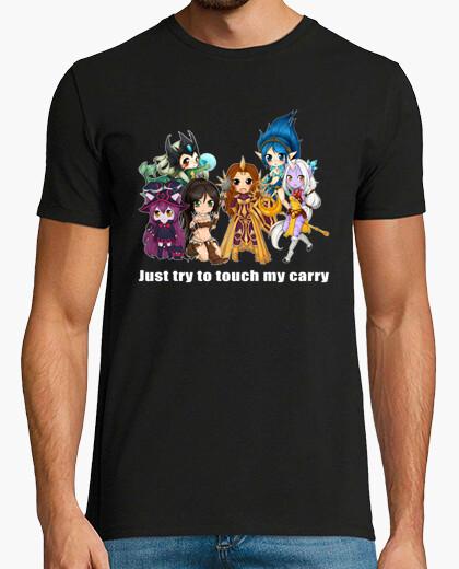 T-shirt non tocca il mio carry - supporti