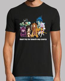 non tocca il mio carry - supporti