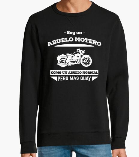 Felpa nonno biker