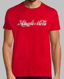nonno mola (coca-cola logo) sfondo rosso
