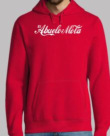 nonno mola (logo cocacola) sfondo rosso