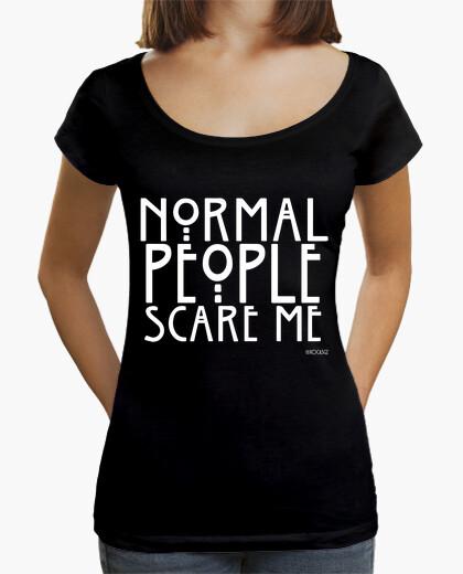 Tee-shirt normal les people me font peur #ahs