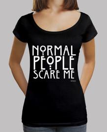 normal les people me font peur #ahs