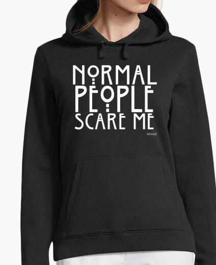 Felpa normale people mi spaventano #ahs