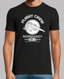normandía tripulación de vuelo