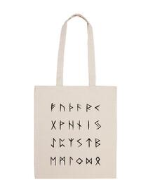 norse runes - black edition