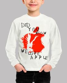 nos encanta la manzana - nota de la muerte
