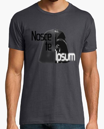 Camiseta Nosce te ipsum. Vader