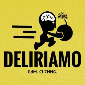 T-shirt nosotros delirious chaqueta de bombarde