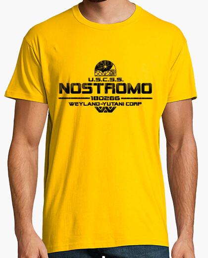 Camiseta Nostromo Black