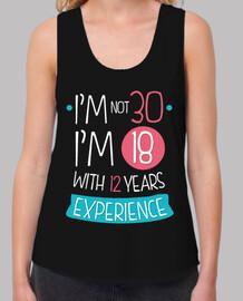 not 30 anni, not 18 anni con 12 anni di esperienza, 1990