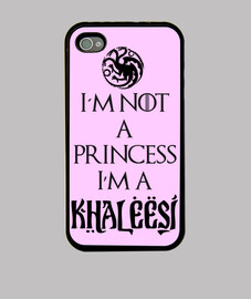Not a Princess A Khaleesi - iPhone 44S