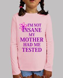 Not insane girl