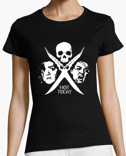 Camiseta Not Today - Arya Stark (mujer)