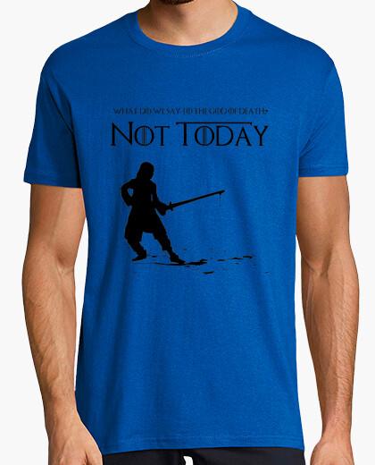 Camiseta Not Today - Juego de tronos