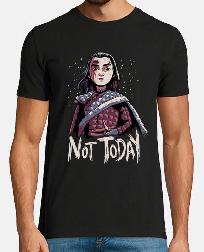 not today arya stark t shirt