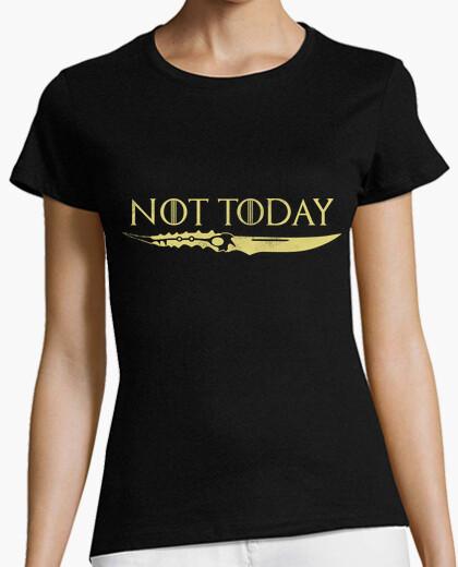 Camiseta Not Today Dorado