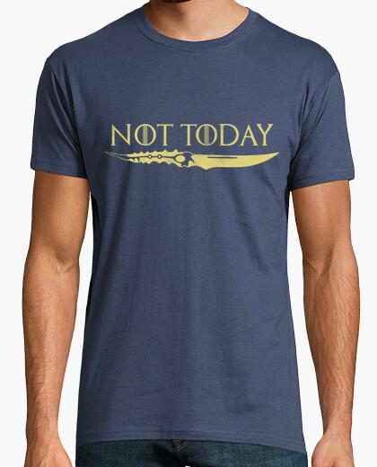Not today golden t-shirt