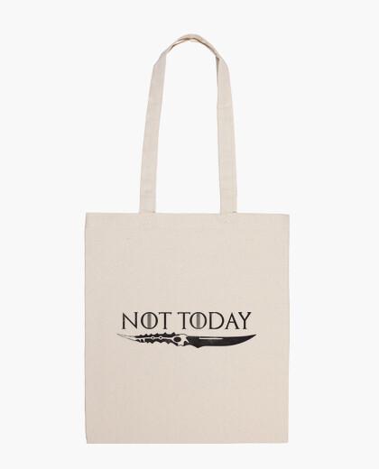Bolsa Not Today Negro