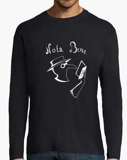 Tee-shirt Nota Bene blanc