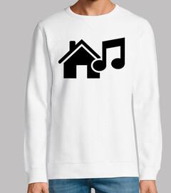 note de musique house