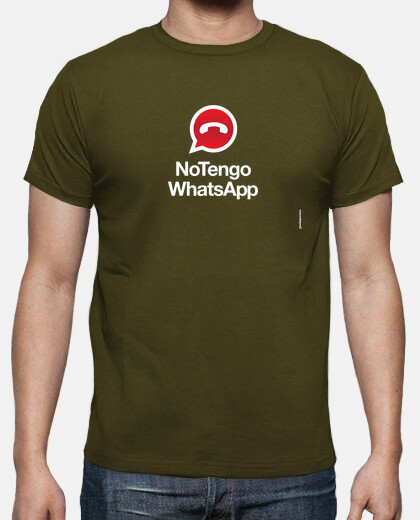 Camisetas NoTengo WhatsApp