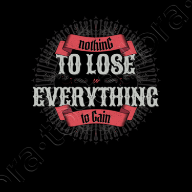 Nothing To Lose Everything To Gain Framed Print 1348303