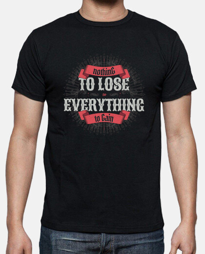 NOTHING TO LOSE teeshirt homme