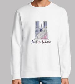 Notre Dame - Sudadera de hombre