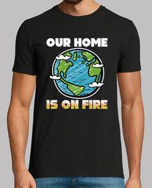 notre maison est en feu