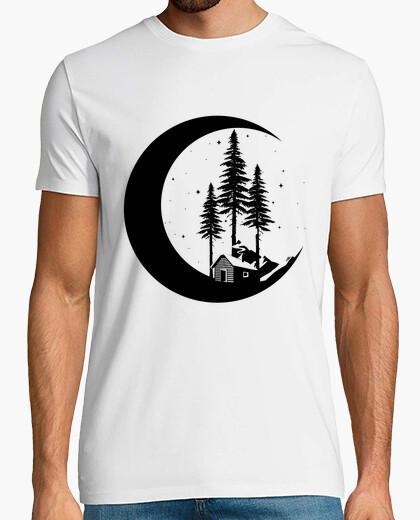 T-shirt notte della foresta