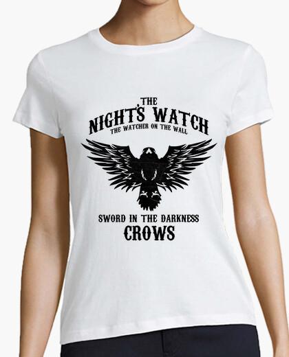 T-shirt notte di watch