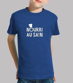 NOURRI AU SAIN