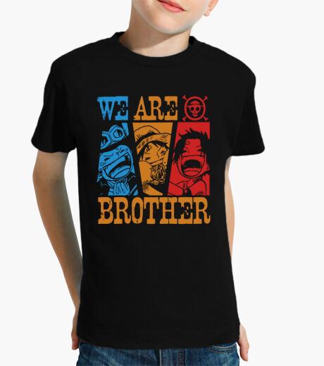 Vêtements enfant nous sommes frères - un anime morceau