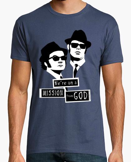 Tee-shirt nous sommes sur une mission de dieu