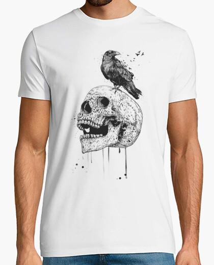 Tee-shirt nouveau crâne (bw)