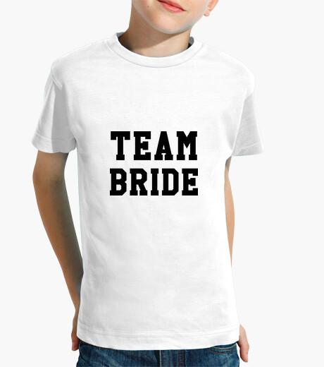 Ropa infantil novia del equipo / de la boda