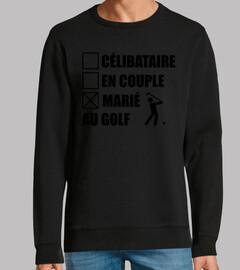 novio de golf golfista